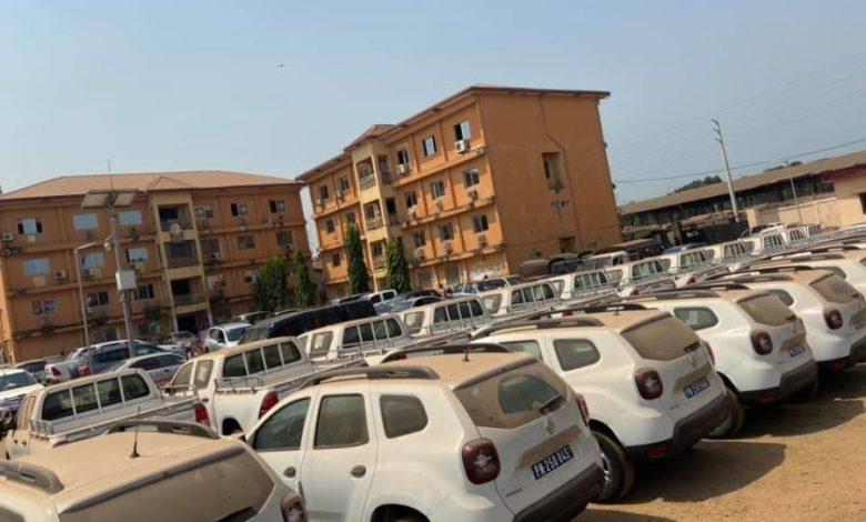 Alpha Condé vient d'octroyer 32 véhicules au Ministère de la Sécurité et de la Protection Civile