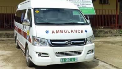 Ambulance guinéenne hopital