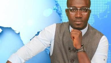 Damaropremier Camara journaliste animateur télé à espace tv Guinée et créateur de l'autre journal