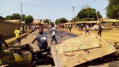 jour de vote en Guinée.