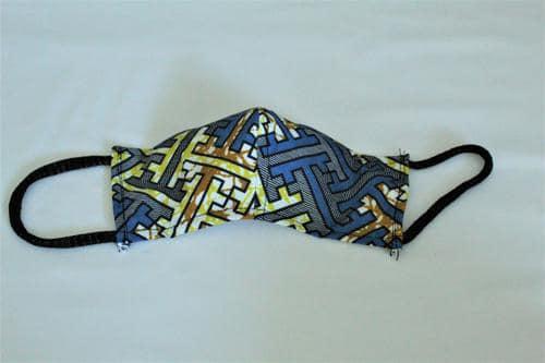 masques artisanaux covid19 en GUINÉE