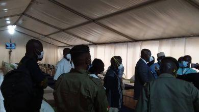 Un nouveau centre de prise en charge aménagé pour la prise en charge des détenus testés positifs au COVID-19