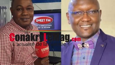Aboubacar Diallo et Mohamed Mara Espace FM GG