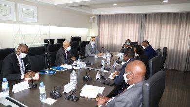 LE COORDINATEUR DU SYSTÈME DES NATIONS UNIES CHEZ LE PREMIER MINISTRE DR IBRAHIMA KASSORY FOFANA