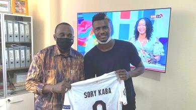Sory Kaba a rendu une visite de courtoisie au Président de la Fédération Guinéenne de Football