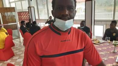 Djibril Tamsir Souaré, CEO de MASITA en Afriquede l'Ouest, est à Limbé pour apporter son soutien au Syli National Local