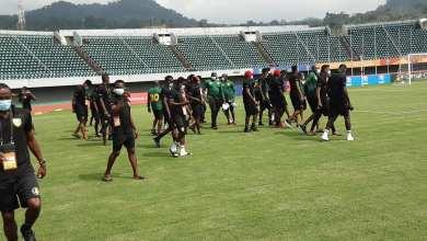 Les joueurs du Syli National Local ont fait la reconnaissance du Stade Omnisports de Limbé