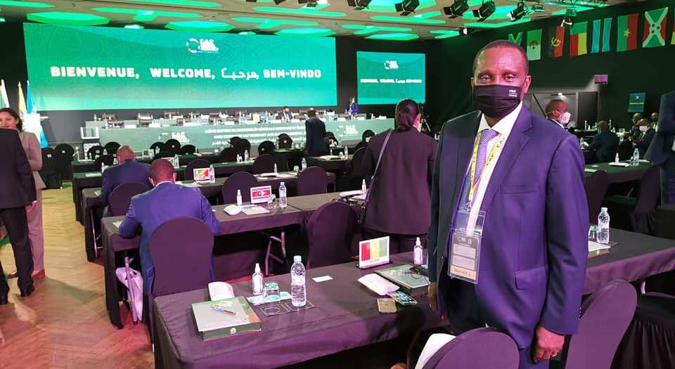 Antonio Souaré à Rabat CAF