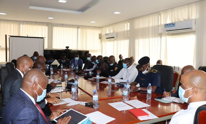 Compte Rendu de la réunion du cabinet du Ministère de la Sécurité et de la Protection Civile