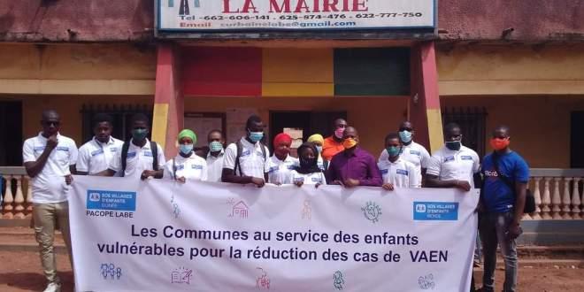 La mairie de labé â reçu ce lundi 22 Mars 2021 les membres des comités locaux enfants et familles ,plus particulièrement ceux accompagné par le programme d'accompagnement des communautés pour la protection de l'enfant (SOS - PACOPE.)