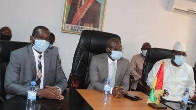 Le Ministre du Budget Ismael Dioubate