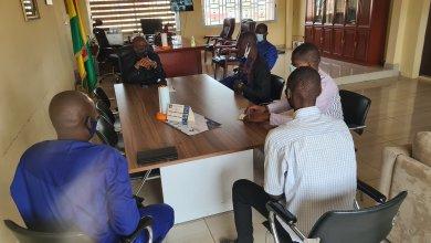 Le Maire de la Commune de Matoto Mamadouba Tos Camara