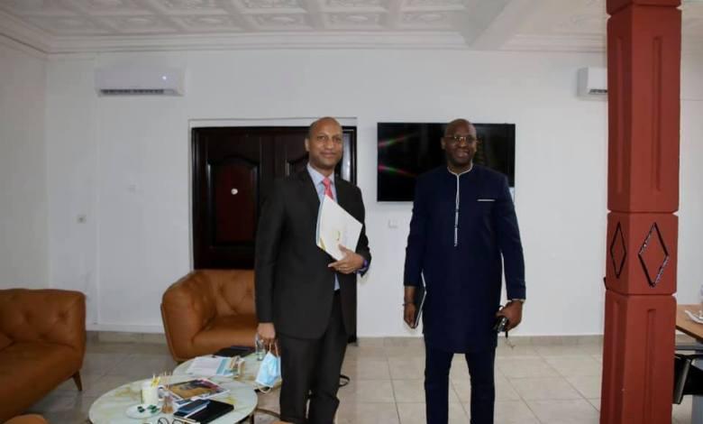 le Ministre Saïd Oumar Koulibaly a rencontré M. Gabriel Curtis