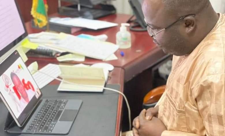 Dr. Ibrahima Khalil KABA - Dauphin d'Alpha CONDÉ