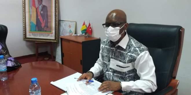 Ministre de la Ville et de l'Aménagement du Territoire Dr Ibrahima Kourouma