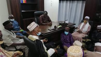 Ce matin tous les imams de Kaporo rail Bambeto koloma 1 sont venus plaider auprès de la Maire de Ratoma
