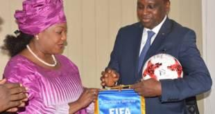 Fatma Samoura secrétaire générale de la FiFa