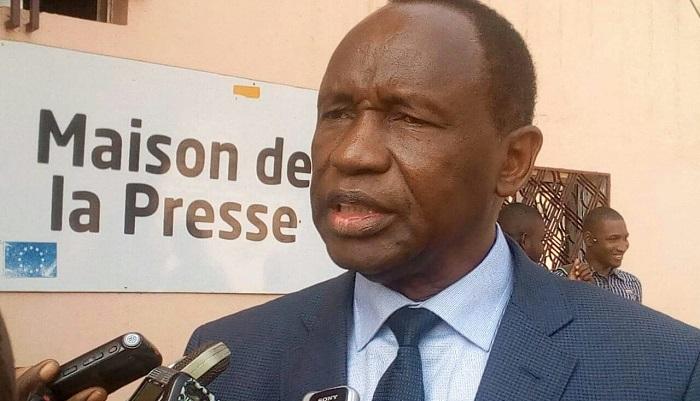 Le Premier Ministre Ahmed Tidiane Souaré