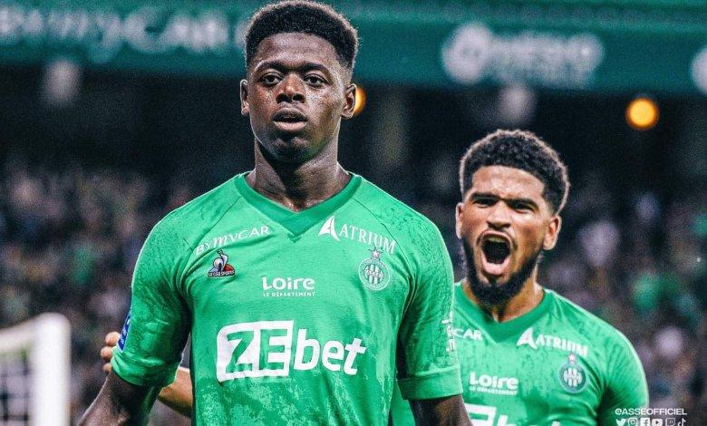 Ligue 1 Uber: Saidou Sow offre le point du match nul au Stéphanois.