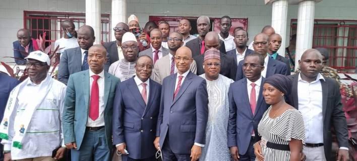 Cellou Dalein Diallo parle de l'implantation de l'Alliance Nationale pour l'Alternance et la Démocratie (ANAD)