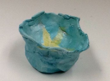 Completed Pinch Pot