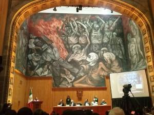 Rigoberta Menchu otorga conferencia en Guadalajara respaldada por CONAPE y CONCAAM