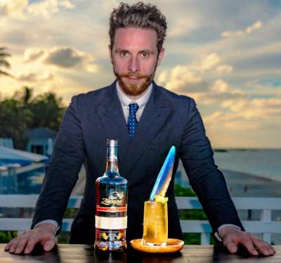 Ali Reynolds and One&Only Ocean Club Signature Cocktail