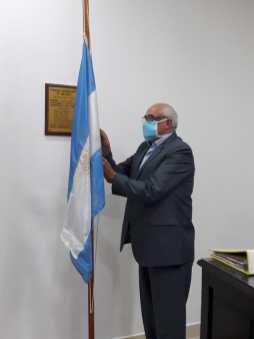 Izamiento Bandera - Jorge Gabito