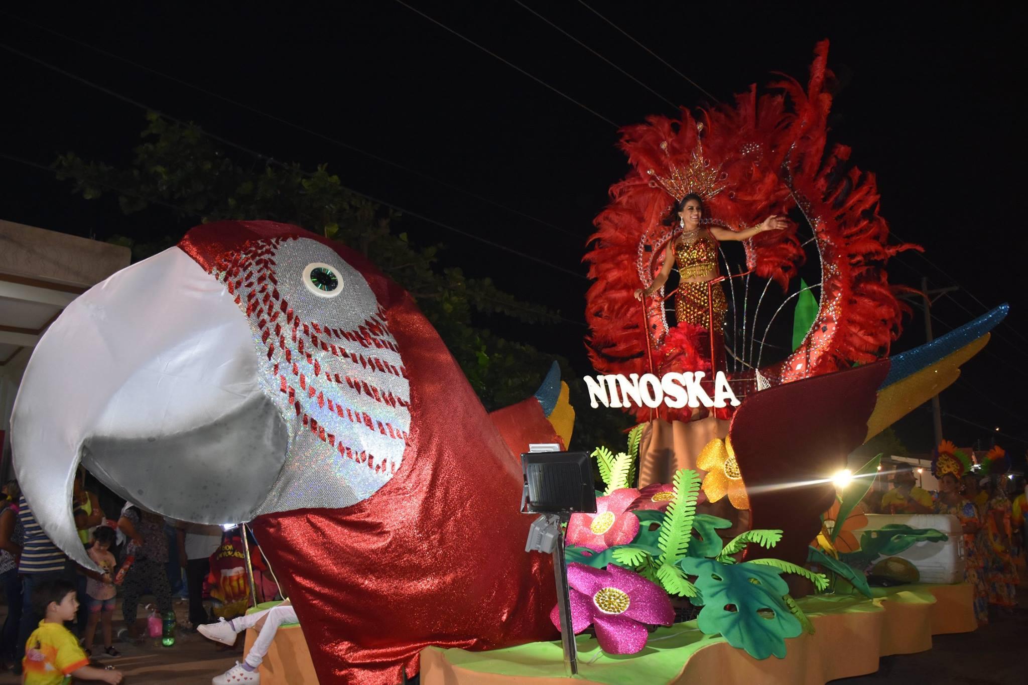 Fiesta de colorido y tradición en el carnaval montereño.