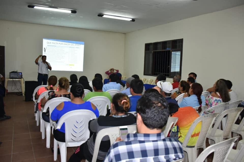 Distrito1 En la noche de este miércoles se desarrolló la cumbre en el distrito uno de Montero