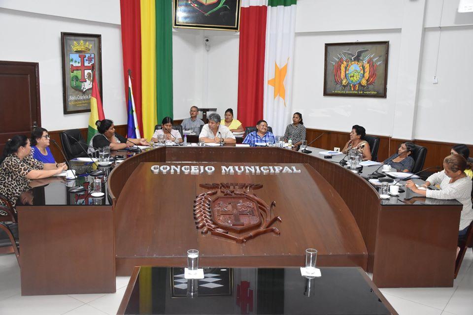 Dr. Roberto Caballero Montero fue elegido por tercera vez como Máxima Autoridad Ejecutiva del Concejo Municipal de Montero.