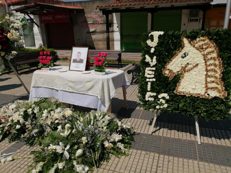 Homenaje póstumo al Tte. Pablo Daniel Aracena (+)