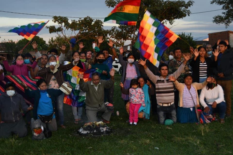 Año Nuevo Andino Amazónico fue recibido en Montero