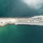 AFmedios Escollera de la playa Las Brisas en Manzanillo construída por API  5 - La escollera - #Noticias