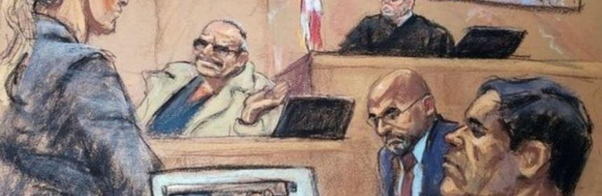 """El juicio al Chapo Foto Jane Rosenberg Reuters - El """"Rey"""" Zambada, la """"Chapodiputada"""" y Milton Cifuentes NO han sido liberados - #Noticias"""