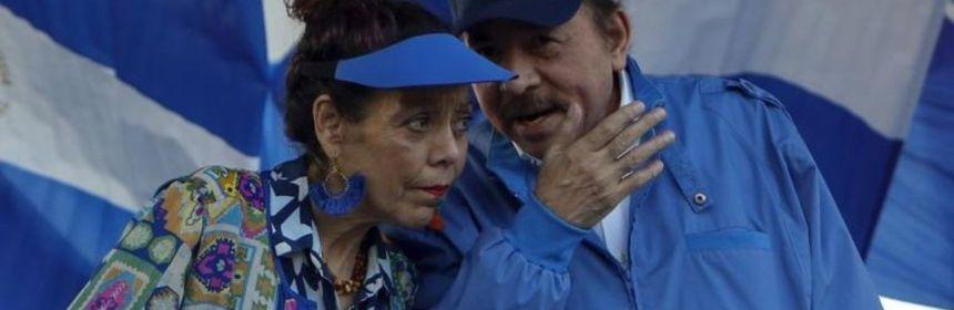 el presidente de nicaraguax daniel ortegax y su esposa y vicepresidentax rosario murillo crop1581644964611.jpeg 673822677 - El Gobierno de Nicaragua libera a 1.000 presos, entre ellos 9 opositores - #Noticias