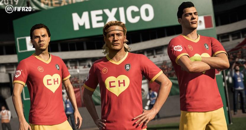 """erqss77wkaizl h - FIFA 20 homenajea a """"Chespirito"""" y lanza uniforme conmemorativo del """"Chapulín colorado"""" - #Noticias"""