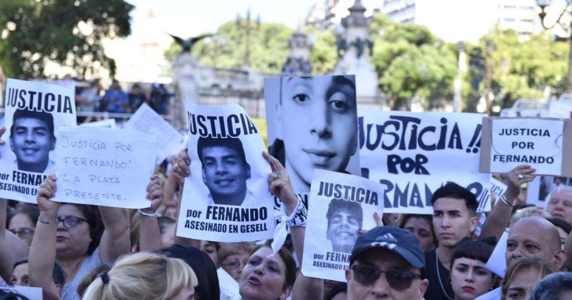 fernando  justicia crop1582071853341.jpg 673822677 - Argentina enfurecido por el asesinato de Fernando - #Noticias