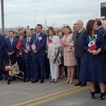"""nuevo laredo el abrazo 1 - México y EU conmemoran la """"Ceremonia del Abrazo"""" en puente Juárez-Lincoln, Tamaulipas; Pelosi asiste - #Noticias"""