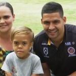quaden - VIDEO: Quaden Bayles, víctima de acoso escolar, se convierte en protagonista de partido de rugby - #Noticias