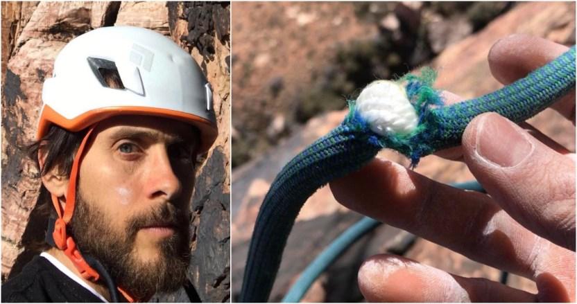 """8 7 - """"Este día casi muero"""", Jared Leto estuvo a punto de caer a 180 metros de altura al escalar - #Noticias"""