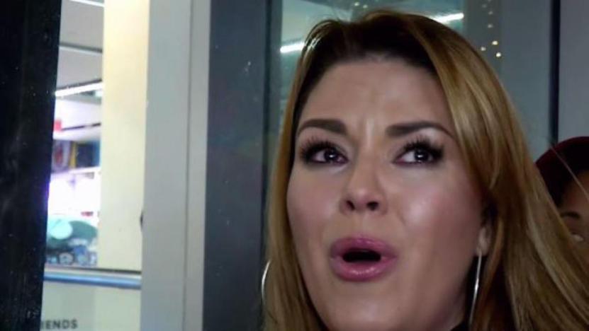 Alicia Machado llora - Alicia Machado evita al coronavirus: Un compañero de su hija dio positivo al virus (VIDEO) - #Noticias