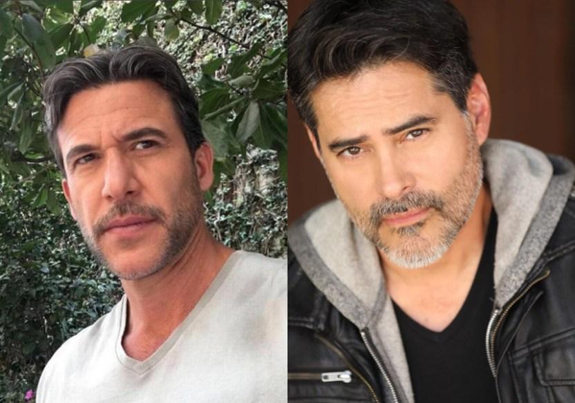 Jorge Aravena y Carlos Montilla - Los actores Jorge Aravena y Carlos Montilla se reencuentran y generaron controversia por su apariencia (FOTO) - #Noticias