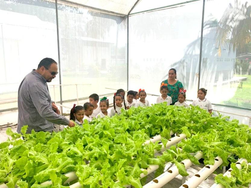 Niños visitan la UdeC a - Conocen alumnos de jardín de niños qué hace un agrónomo - #Noticias