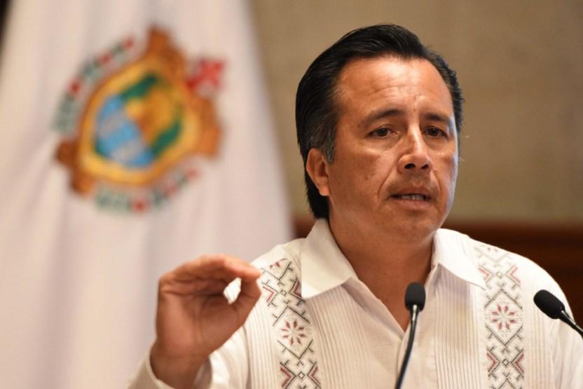 """bd40c14d93f9d5ac32 200316 cuitlahuac yc5 1 - Por Covid-19, gobierno de Veracruz planea """"recortar"""" 500 mdp a órgano electoral"""