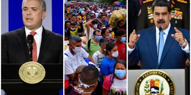 colombia nego venezuela control pandemia 1 0 949 590 660x330 - Colombia y Venezuela cierran sus fronteras por coronavirus – Archivo Digital Colima