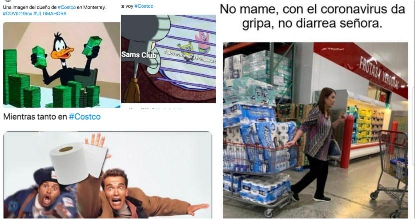 coronavirus memes - Compras de pánico en Costco y otras tiendas regresan por COVID-19 en México; en redes crean MEMES - #Noticias