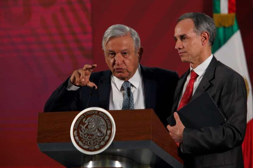 "lopez obrador lopez gatell - López Obrador llama a no ""zopilotear"" con la pandemia"