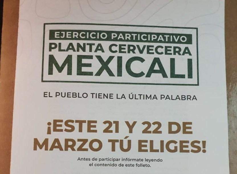 """mexicali - Comienza la """"guerra sucia"""" rumbo a la consulta sobre Constellation Brands"""