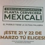 mexicali - Colectivos afirman que ganaron consulta contra Constellation Brands, pero dejan anuncio a AMLO